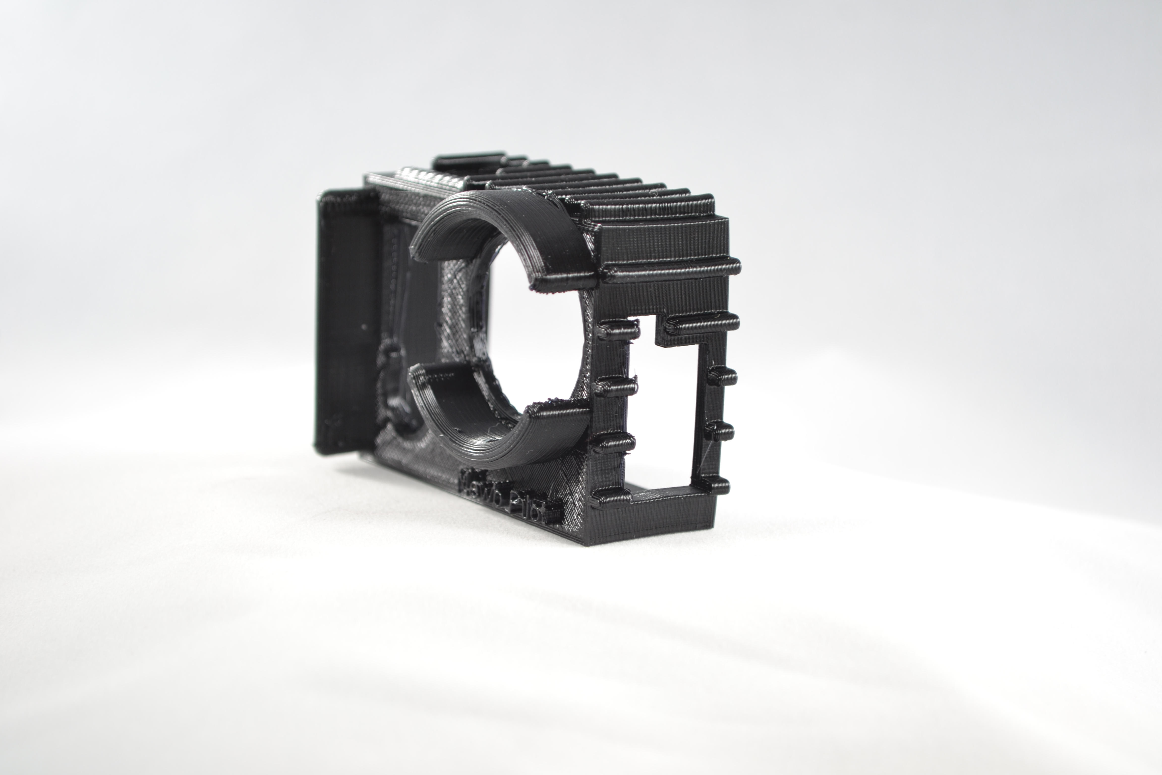 Black GoPro4 Side 1