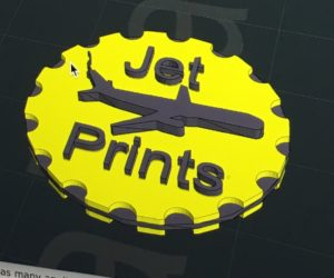 Jet Prints - 3D Printing Running on Jet Fuel