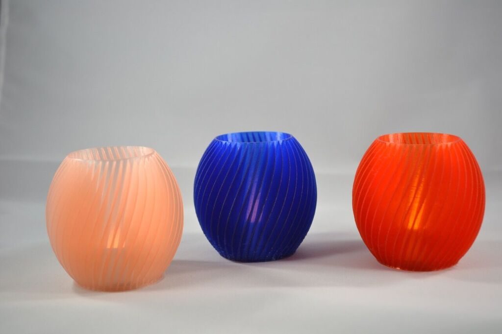 Spiral Tea Candles
