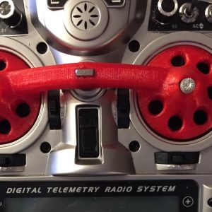 3d printed gimbal protector in flexible tpu for either Taranis or Spektrum DX radios