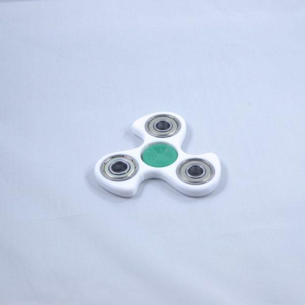 White Curv Green