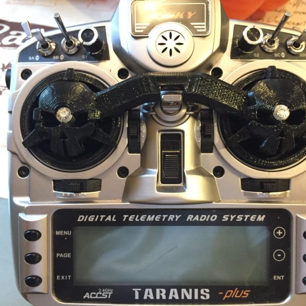FrSky Taranis RotorRiot Gimbal Protector in Flexible TPU