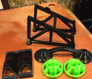 FPV Quadcopter Launchpad 3dprinted by Jetprints
