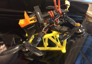 QAV-R on an FPV Quadcopter Launchpad 3dprinted by Jetprints