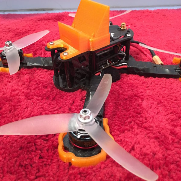 SpaceOne 220x GoPro Mount from JetPrints in flexible TPU