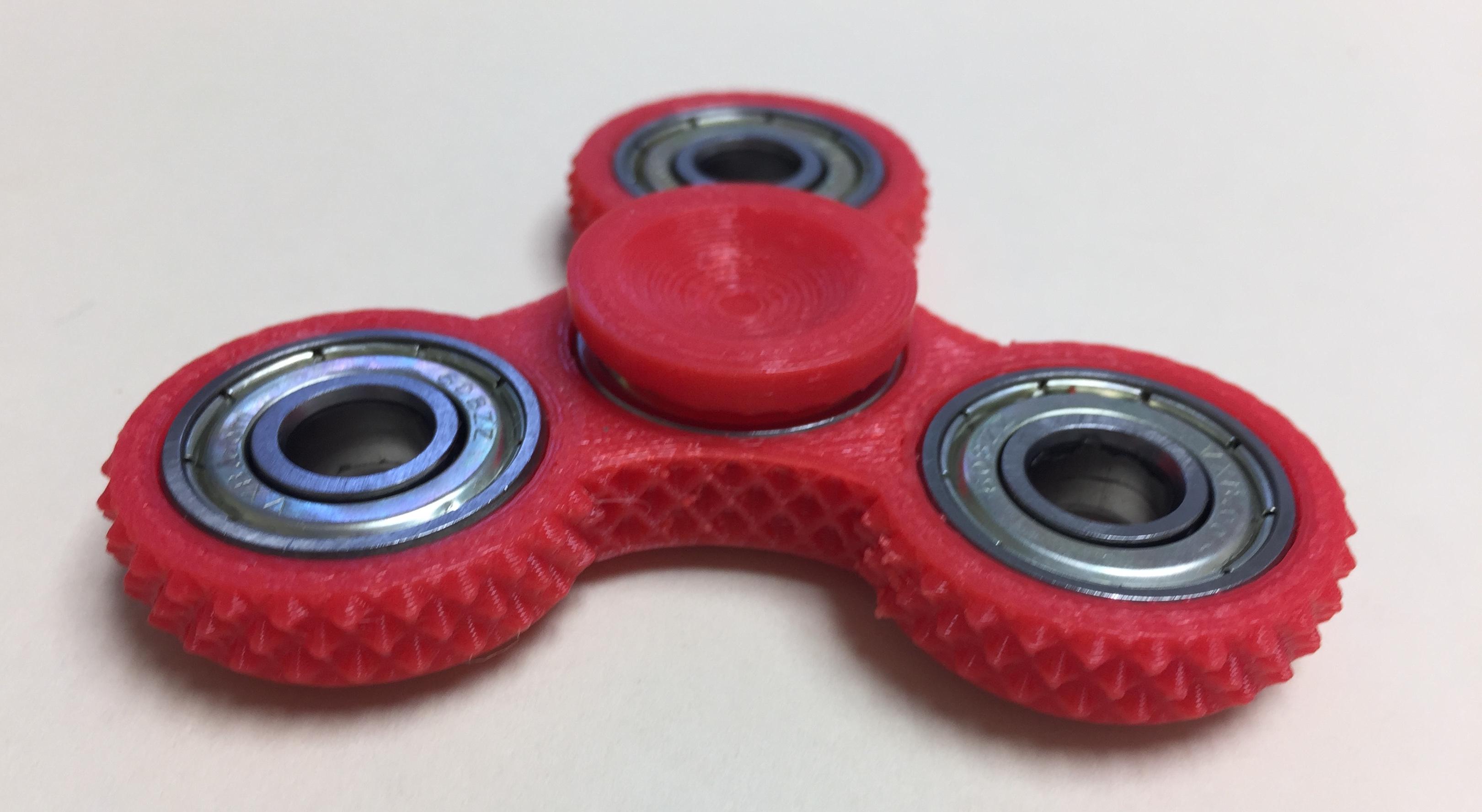 Studded Fidget Spinner