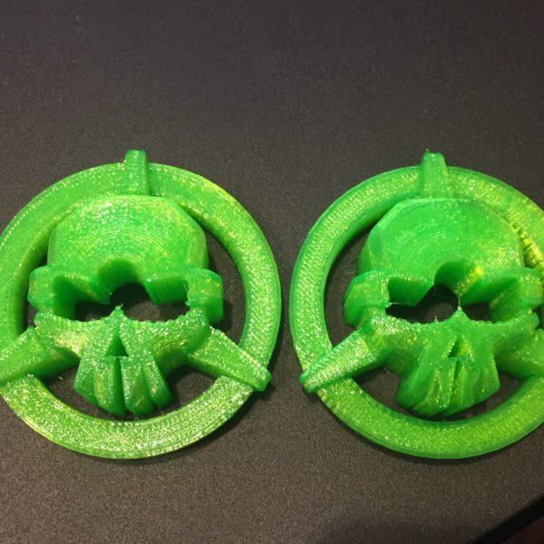 3D Printed Taranis Q X7 Rotor Riot Gimbal Protector from Jetprints